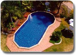 Keyhole pool