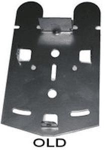 Old Sterns metal post plate