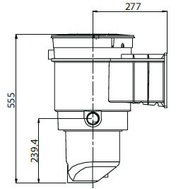 Waterco skimmer box dimensions