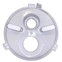 Poolrite Skimmer Vacuum Plate S2500 2 hole - NO VALVE