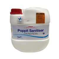 Poppit Spa Sanitizer 15L Spa Chemicals. Chlorine free spa chemical.