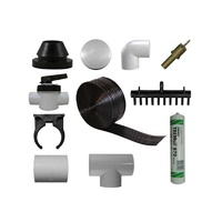 38 Sq Mt solar heating kit