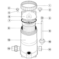 Davey EcoPure Cartridge Filter Spare Parts