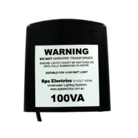 Spa Electrics transformer 100VA 12v
