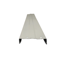 Pool World 110mm Above Ground Pool Steel Coping White - 990mm