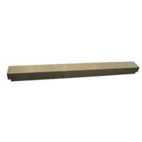 Pool World Above Ground Keyhole End Post Cover Beige