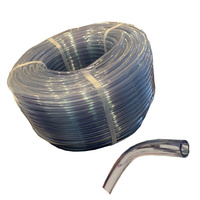9mm Clear Flexible Air Hose for Spas per metre