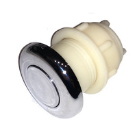 Air Button plunger for spas - Chrome