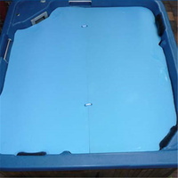 Thermal Foam Spa Cover 10mm Thick 2.4m x 2.4m - 2 Sheets
