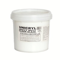 Unicryl Heavy Duty Clear Glaze