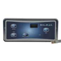 Balboa VL402 Signature Spas Sig 100 touchpad panel - VL402 Duplex Digital LCD - 4 Button