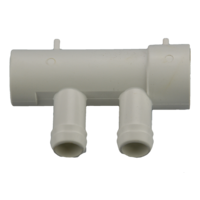 Edgetec 2 port 19mm Barb manifold 25mm S x 25mm Spg