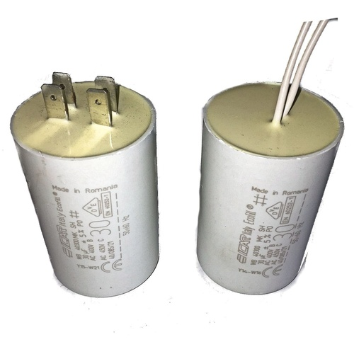 30uf Capacitor [Leads or Terminals: Leads]
