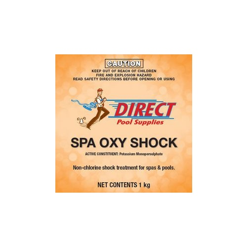 OxyFresh Spa Chemical, Spa Shock 1 kg Potassium Monopersulphate